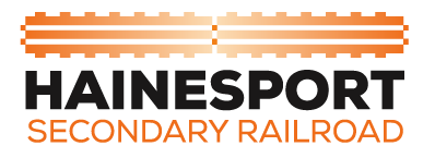 Hainesport Secondary Railroad Logo